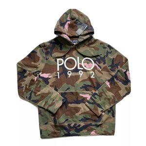 Polo Ralph Lauren 1992 Camouflage Hoodie Sweater